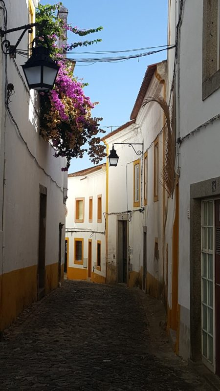 A Typical Évora Street