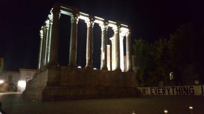 The Roman Temple in Évora