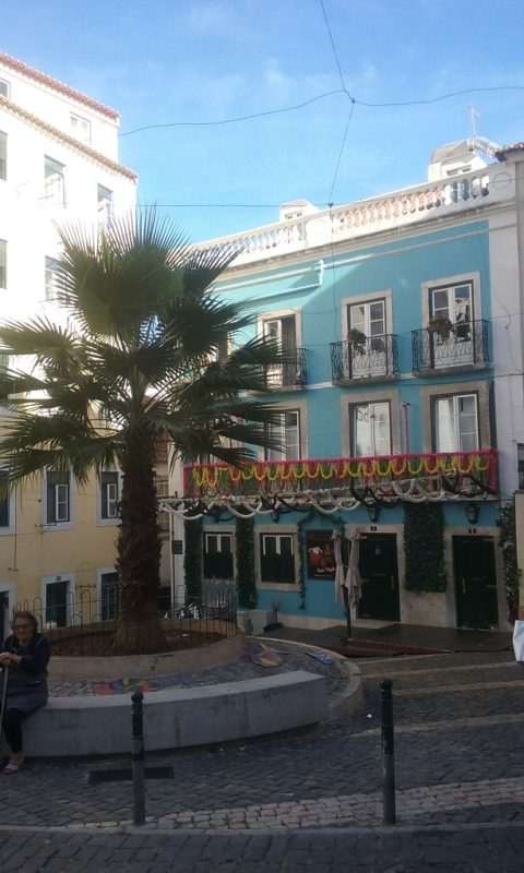 The Alfama Is a Colorful Place