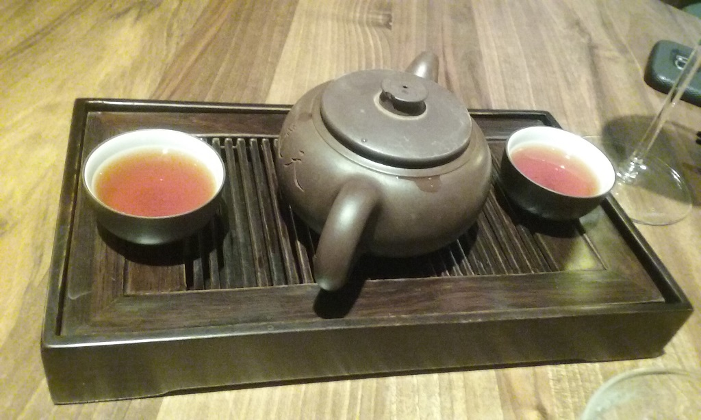 Teas Ranged from Pale Yellow to Rich, Smoky Browns