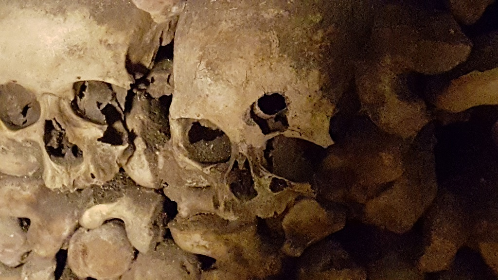 Catacombs and La Dame de Pic