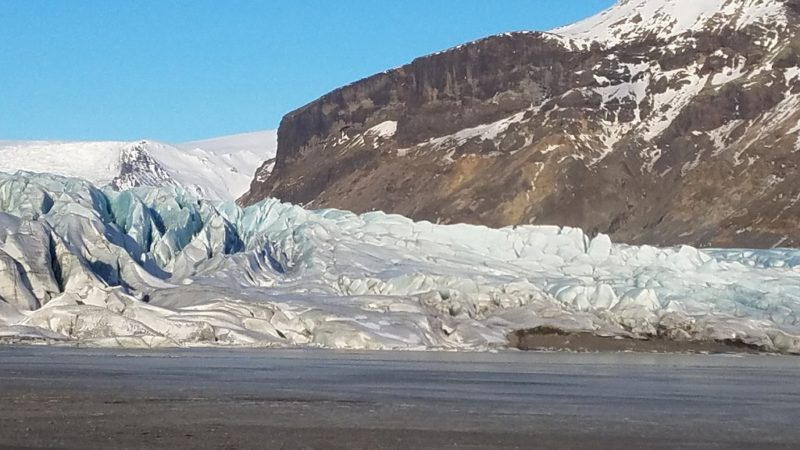 A magical day at the glaciers