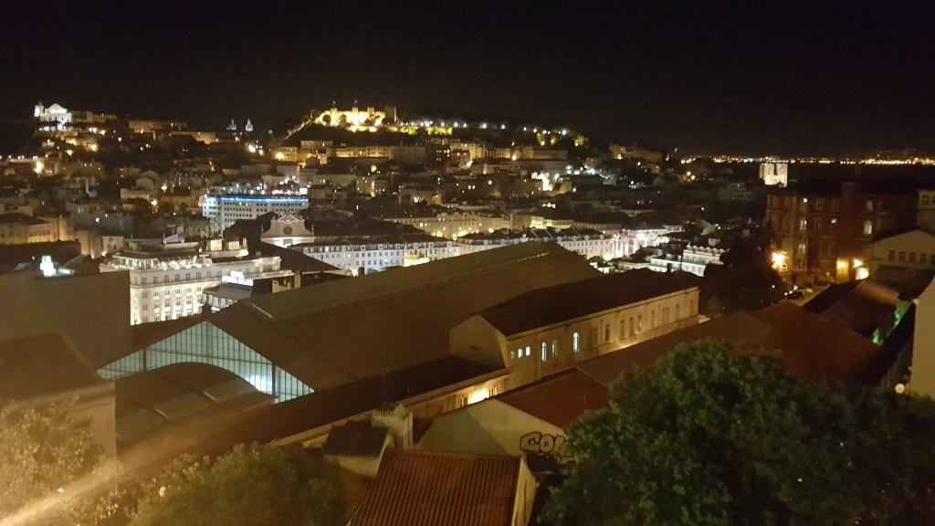 The View from São Pedro Alcantara
