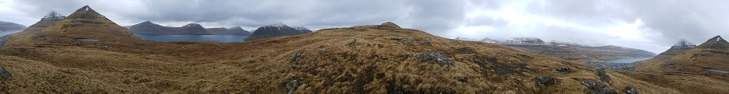 Faroe Islands, fjord, Klaksvik