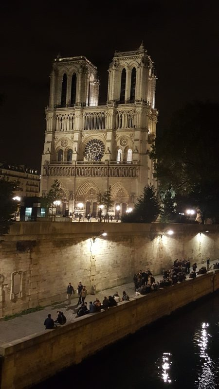 Notre Dame Is Even More Seductive at Night