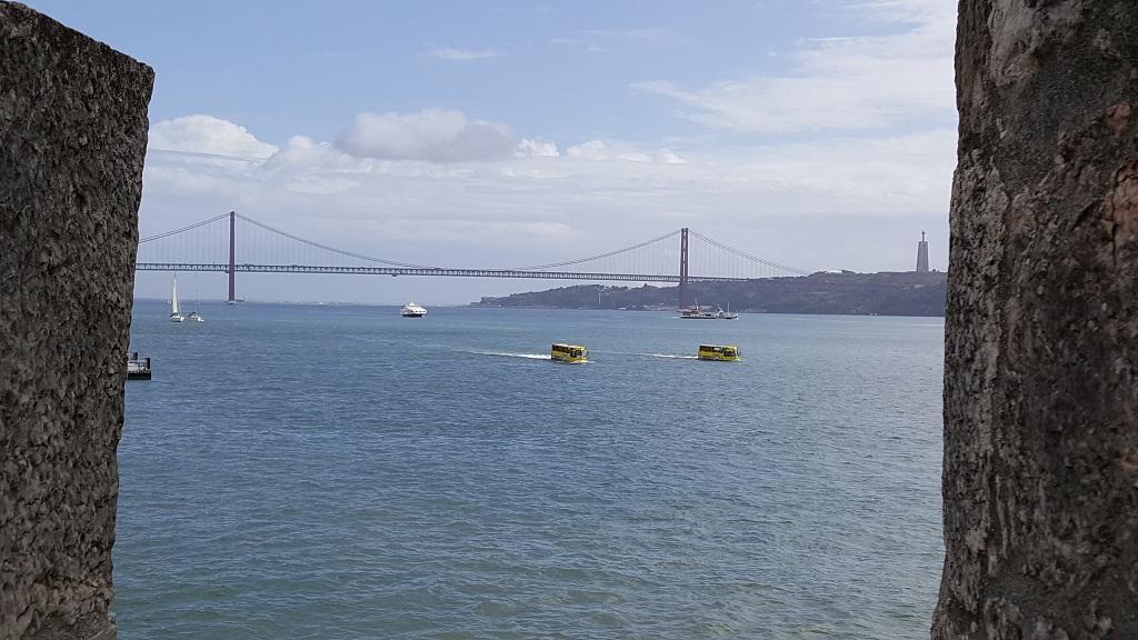 Lisbon's Golden Gate Bridge