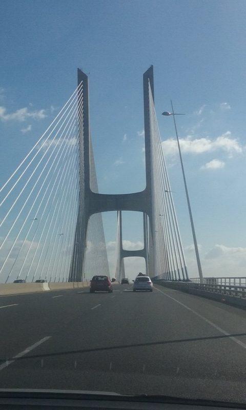 The Vasco de Gama Bridge Connects Lisbon and the Alentejo