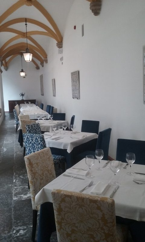 The Restaurant Was in the Former Cloister
