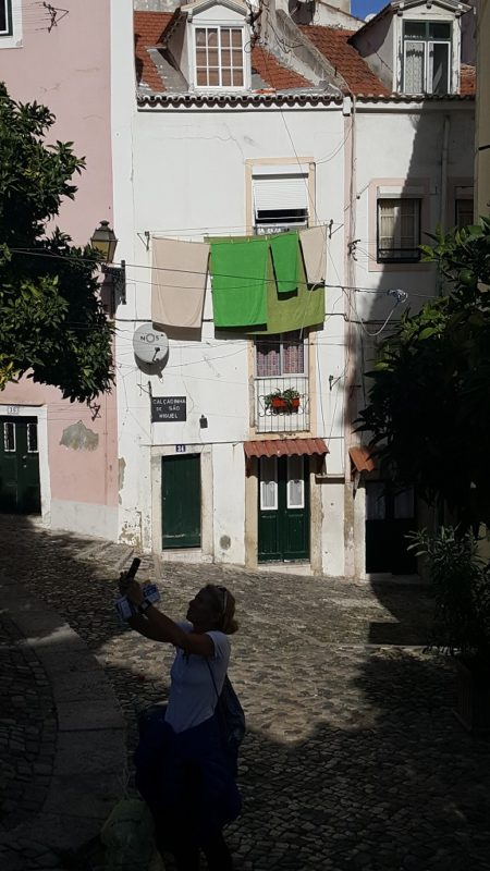 This Depicts the Vibe of the Alfama