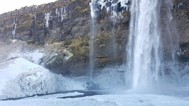 winter traveling in Iceland