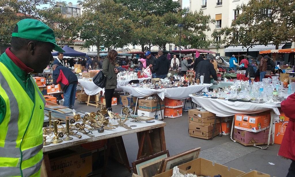 Marché d'Aligre Is Part Food and Part Flea Market