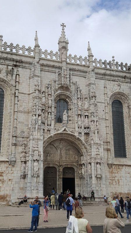 The Ornate Entryway to Jeronimo Monastery