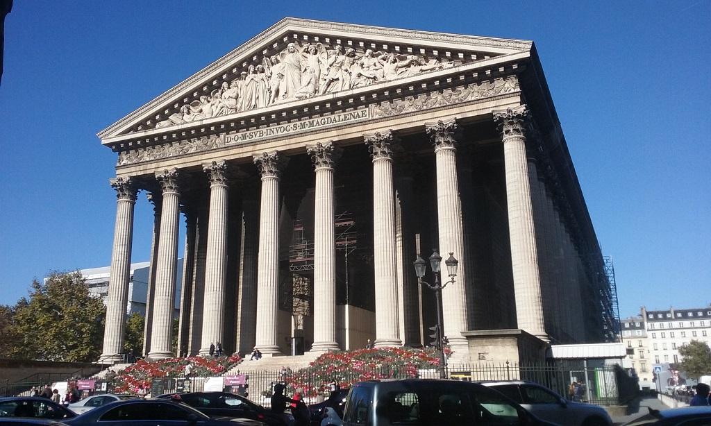 L'Église de la Madeleine, Going inside Will Need to Wait Until Next Time