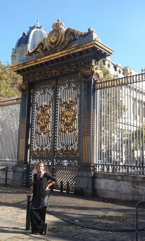 The Gate to the Queen's Conciergerie and Sainte-Chapelle