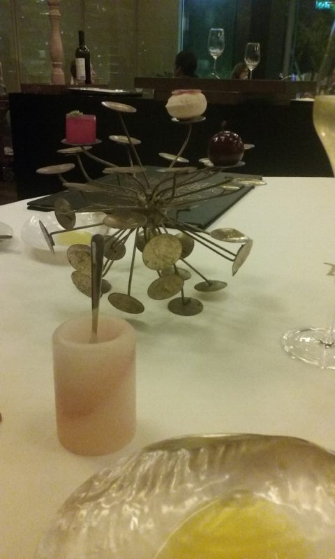 Amuse Bouche in Metal Trees