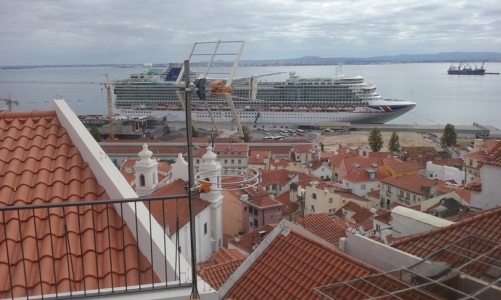 Which Looks out to the Tagus