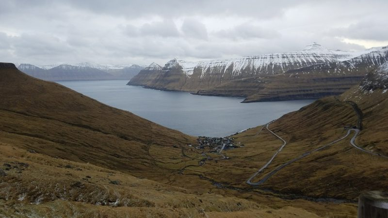 Faroe Islands, Esturoy, Fjords