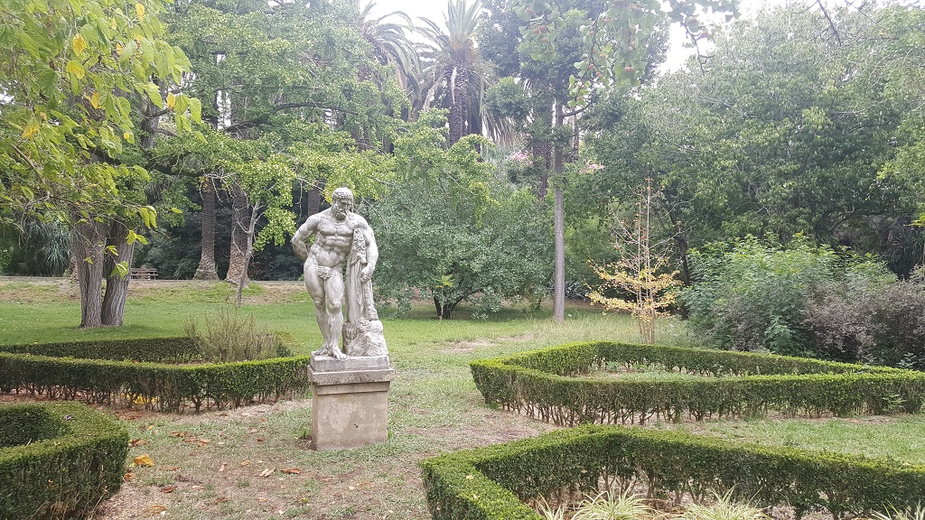I Had Never Considered Classic Statues in Tropical Botanic Gardens