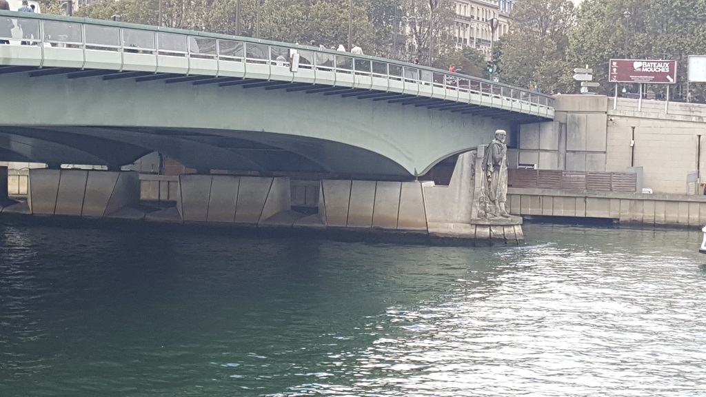 The Zouave's Body Is Used to Measure Degrees of Flooding of the Seine