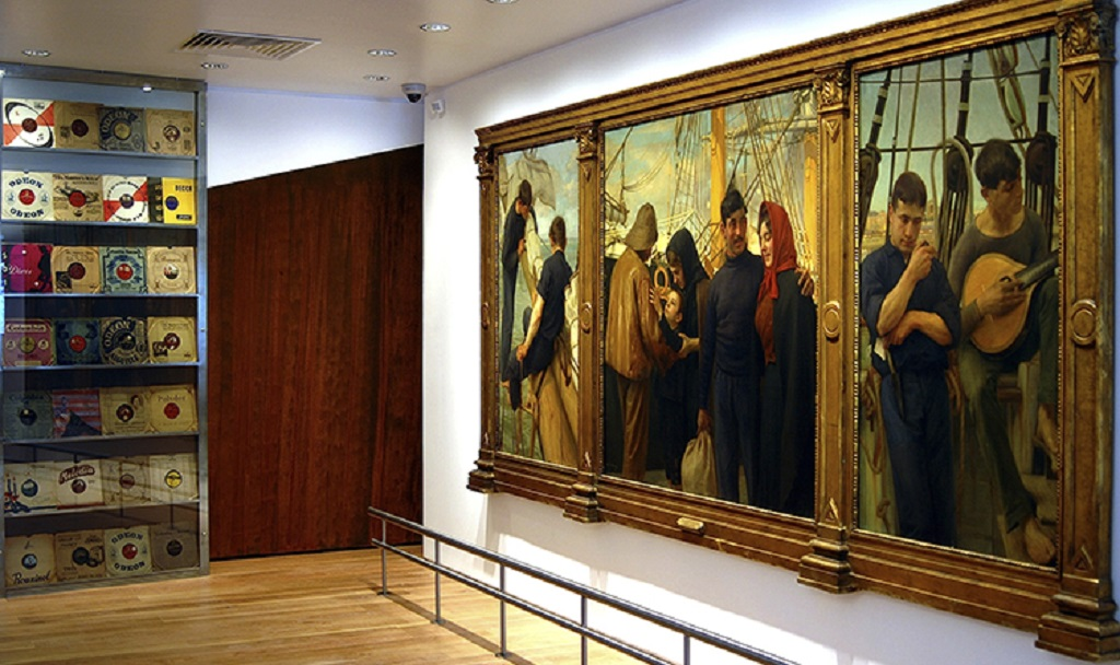"""The Painting That Tells the """"Story"""" of the Source of Fado"""