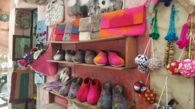 Marrakesh-Souk-Woolens-Felted-Slippers-Morocco