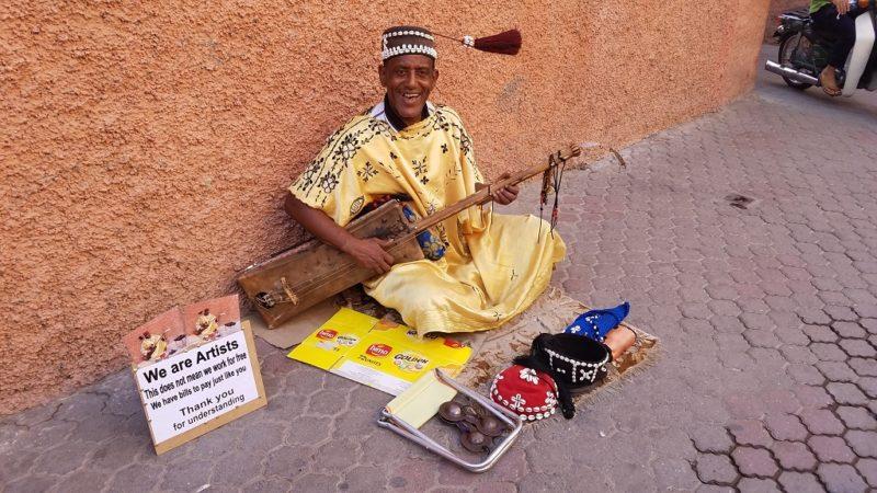 Marrakesh-Morocco-Street-Musicians-Berber
