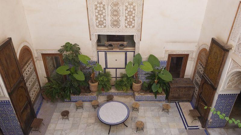 Marrakesh-Morocco-Medina-Riad-Courtyard