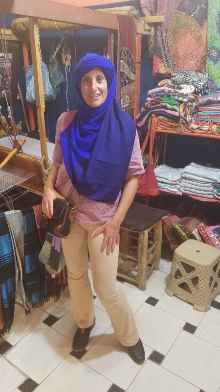 Marrakesh-Morocco-Souk-Berber-Scarf-Medina