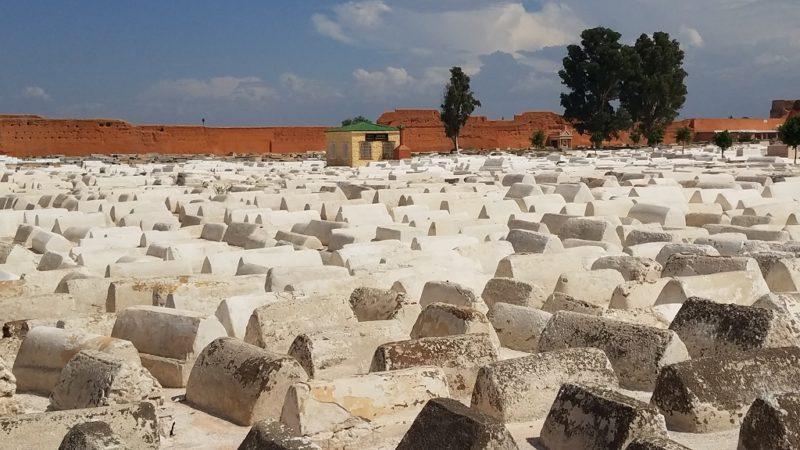 Marrakesh-Morocco-Medina-Jewish-Quarter-Mellah-Miaara-Cemetery