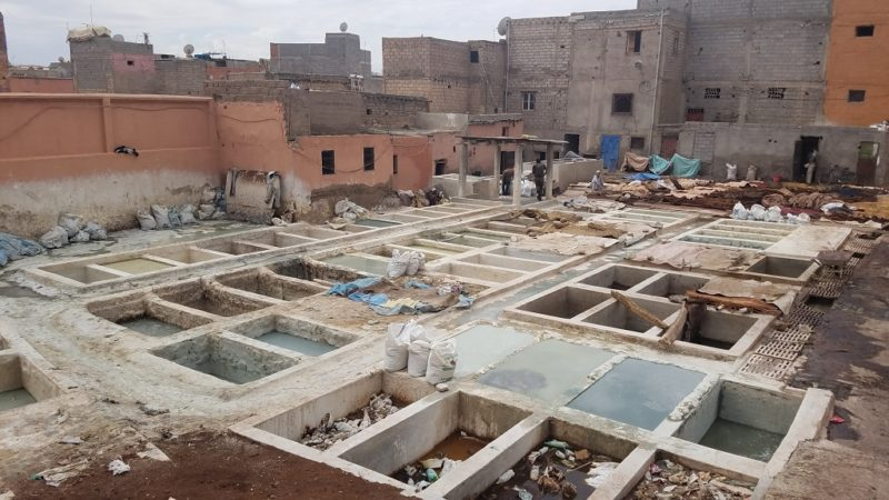 Marrakesh-Morocco-Medina-Tanneries