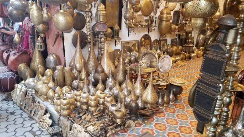 Marrakesh-Morocco-Souk-Medina-Lanterns