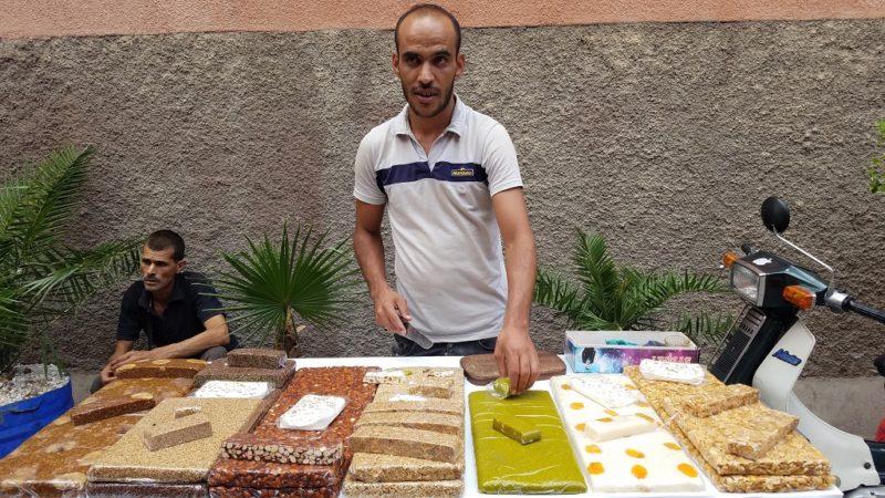 Marrakesh-Morocco-Souk-Nougat