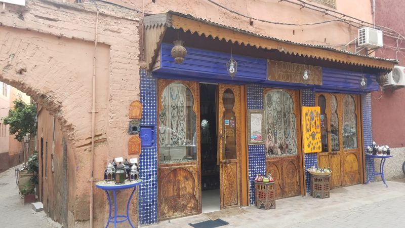 Marrakesh-Morocco-Medina_Shopkeeper
