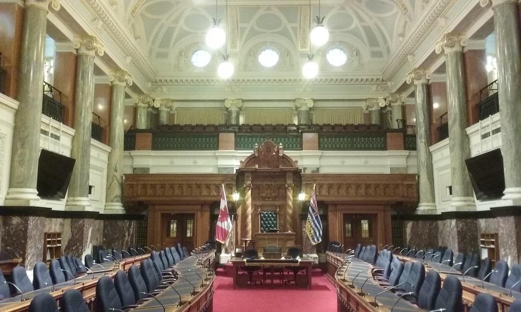 The Regal Legislative Chamber