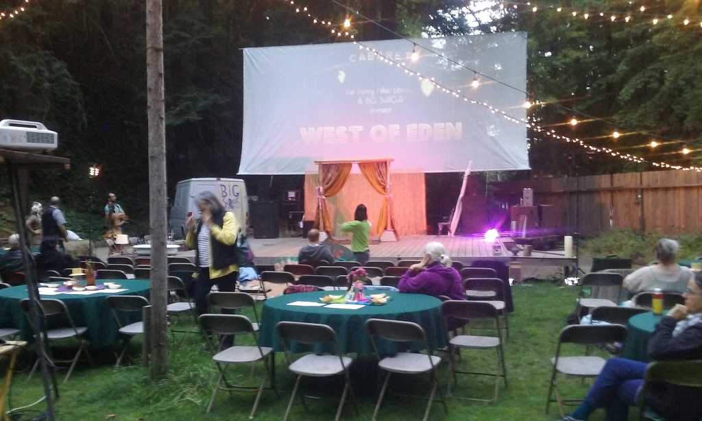 The Lawn at the Henry Miller Library Was Transformed to a Venue