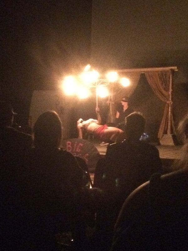Blindfolded Fire Dancing!