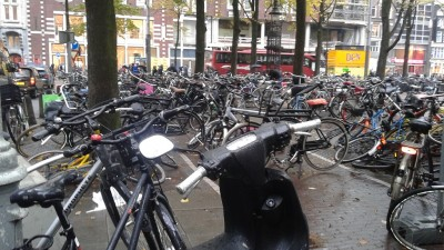 Bikes Rule in Amsterdam and Cars Had Better Watch Out