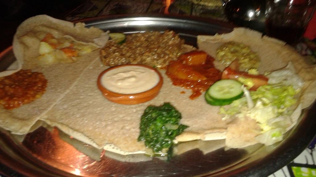 It Was Fun Eating Injera and Ethiopian Food in Amsterdam