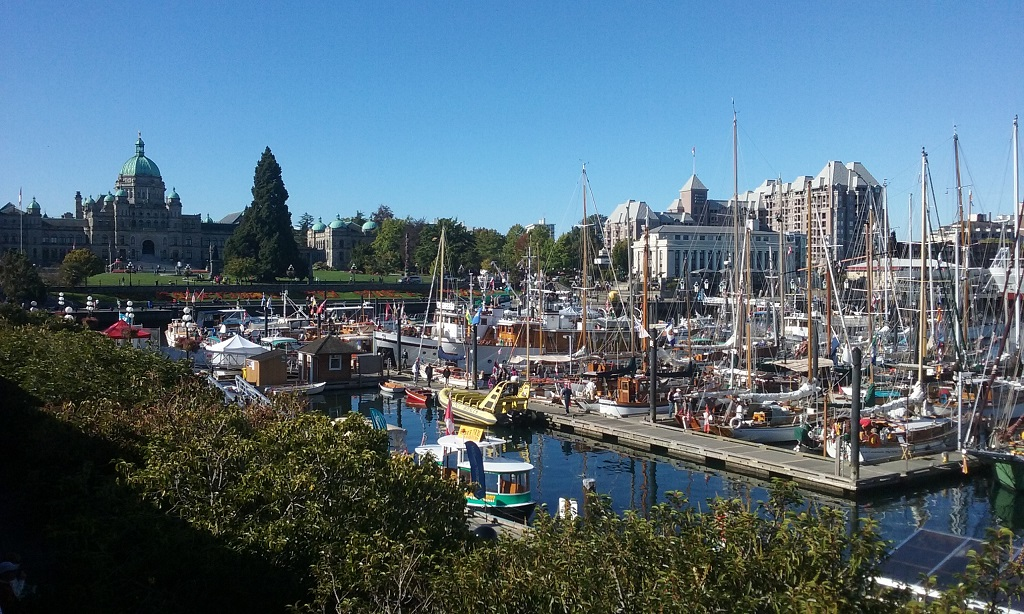 The Inner Harbor Is the Heart of Victoria