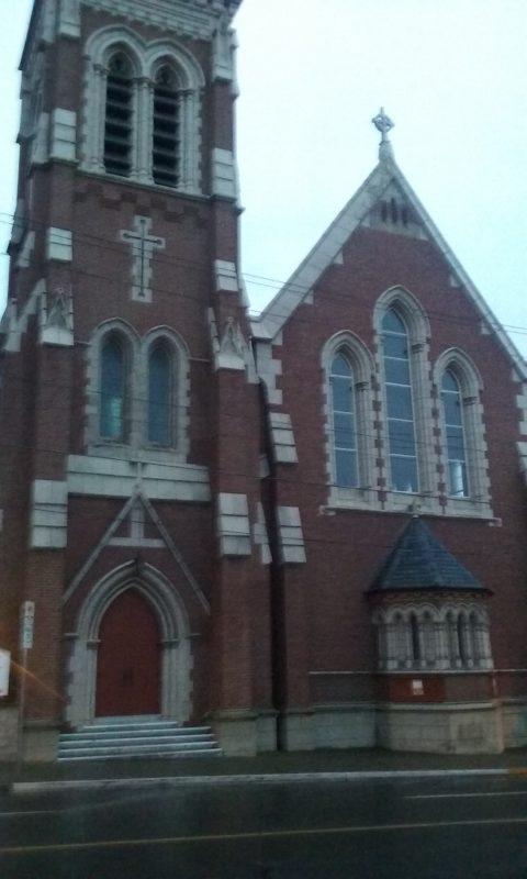 Another Church a Half Block Away