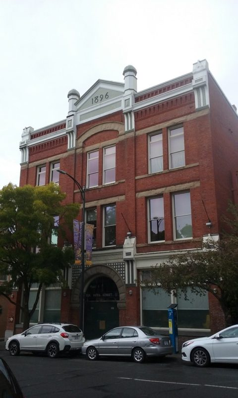 The Lieser Building on Yates Street