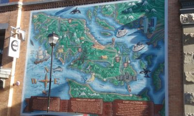 A Mural of Vancouver Island